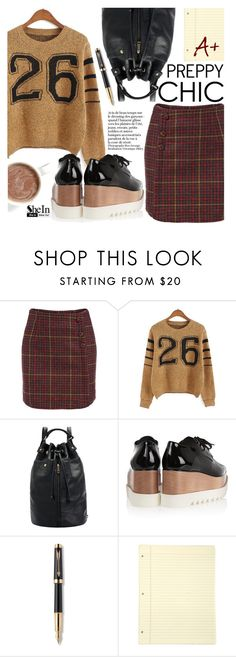"""""""Preppy Chic"""" by pokadoll ❤ liked on Polyvore featuring STELLA McCARTNEY, Parker, Sheinside and shein"""