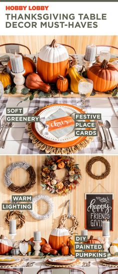 Thanksgiving Table Decor Must-Haves , Hosting Thanksgiving, Thanksgiving Table, Thanksgiving Decorations, Seasonal Decor, Table Decorations, Thanksgiving Recipes, Holiday Decor, Homemade Dog Toys, Creative Skills