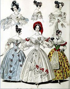 The World of Fashion and Continental Feuilletons 1836 Plate 11