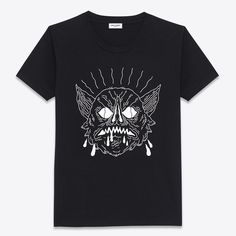 Saint Laurent - 30 t-shirts à porter cet été