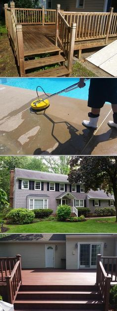 Evolved Pressure Washing, LLC is known for their efficient roof cleaning services. They also have certified and trained professionals who use safe cleaning techniques.