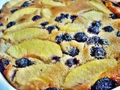 Peach Blueberry Clafouti - this was good. The batter is very eggy, and I prefer less of an egg taste, so I probably won't make it again. Easy, though. I can almost see it as a breakfast thing. Blueberry Clafoutis, Harvest, Oven, Peach, Favorite Recipes, Cooking, Breakfast, Ethnic Recipes, Desserts