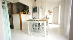 Scandinavian style kitchen in Paris
