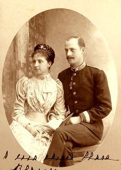 Archiduc Leopold Salvator d'Autriche (1863-1931) et la princesse Blanca de Bourbon (1868-1949)