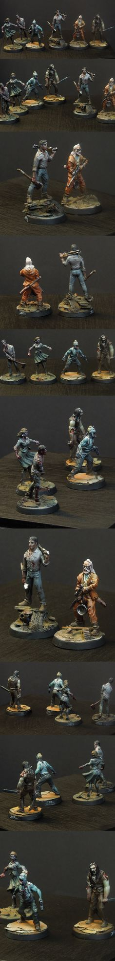 Zombicide - 4 Zombies, 2 Heroes