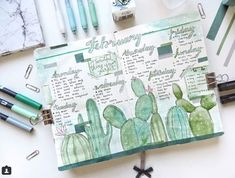 17 incredible cactus spreads for May | My Inner Creative