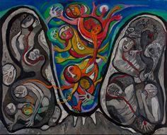 Futuro acontecer (1979) Oleo sobre tela - Raquel Forner (Argentina 1902-1988) Museo Nacional de Bellas Artes de Buenos Aires