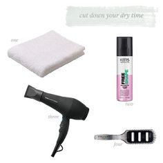 Cut Your Blow Dry Time Down (via Bloglovin.com )