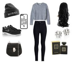 """""""#134"""" by inesmeireles ❤ liked on Polyvore featuring moda, Rodarte, NIKE, Chloé, Tory Burch y Chanel"""