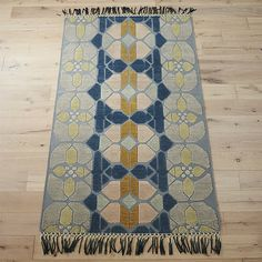 hand-knotted stained glass rug 8'x10'. | CB2