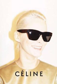 Carmen Kaas for Celine- I want this pair SO bad... Boston Barneys doesn't carry them :(