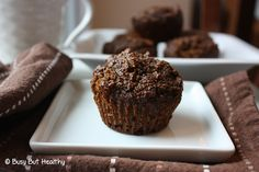 Healthy Pumpkin Gingerbread Muffins - Busy But Healthy
