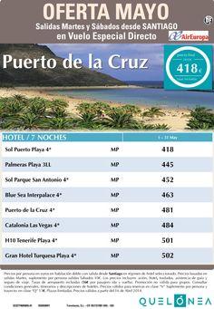 Oferta Mayo Pto. de la Cruz desde 418€ TaX incl.Salidas desde Santiago. ultimo minuto - http://zocotours.com/oferta-mayo-pto-de-la-cruz-desde-418e-tax-incl-salidas-desde-santiago-ultimo-minuto/
