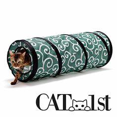 Cat1st Ninja Cat Tunnel (Green) Best Cat Toy CAT1st http://www.amazon.com/dp/B00IX7J72O/ref=cm_sw_r_pi_dp_huXrwb0DMPNK9
