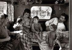 Roma family on the Sainte Sara pilgrimage