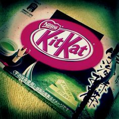Green Tea KitKat is one of Japan's gifts to humanity :)
