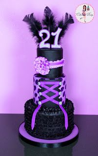 Happy Birthday Cake | Cakes by Dusty: Happy 21st Birthday Charity Paige!