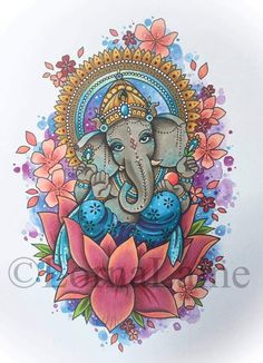 Ganesh Tattoo Print Tattoo Design Spiritual Art Elephant - Ganesh Tattoo Print Tattoo Design Spiritual Art Elephant God Elephant Art Ethnic Home Decor Deity Art Religious Art Mandala April Hand Of Hamsa Tattoo Ganesha Tattoo Mandala Fatima Pintura Ganesha, Arte Ganesha, Ganesh Tattoo, Tattoo Art, Lotus Tattoo, Hamsa Tattoo, Painting Tattoo, Mandala Art, Ganesha Drawing