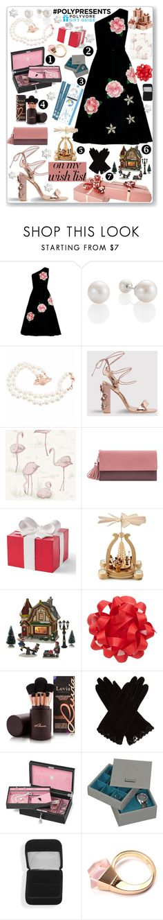 """""""#PolyPresents: Wish List"""" by eldinreham on Polyvore featuring Cole & Son, Grandin Road, St. Nicholas Square, AGNELLE, Aspinal of London, Ted Baker, Gucci, contestentry and polyPresents"""