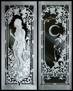 Crystal Glass Studio - Architectural Etched Glass for windows, entry doors