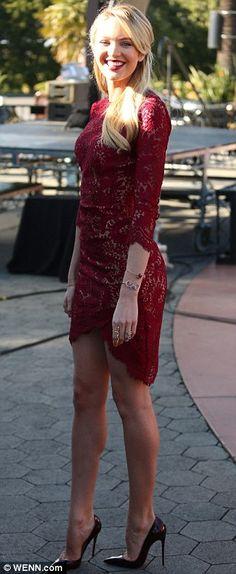 candice swanepoel + dress