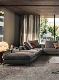 modern interior by Minotti
