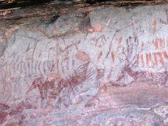Abrigo rupestre Cueva del Tio Modesto (Henarejos-Cuenca)