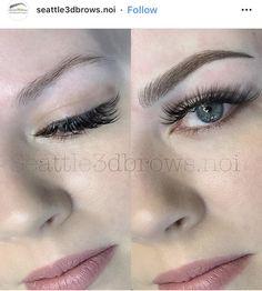 Mircoblading Eyebrows, Eyebrows Goals, Arched Eyebrows, Permanent Makeup Eyebrows, Eyebrow Makeup, Maquillage Yeux Cut Crease, Golden Eye Makeup, Eyebrow Design, Eyebrow Tattoo