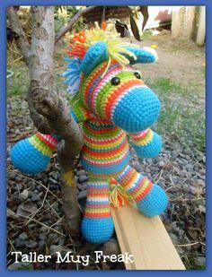 crochet amigurumi  caballo horse