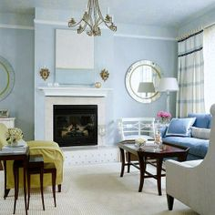 Living #room should always have a high end designing as it always receives more formal treatment than other rooms. Use low tone space-stretching color schemes , to give it a spacious and welcoming look.