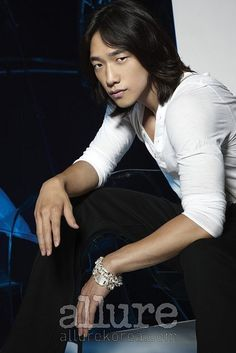Jung Ji-hoon, I'm keeping myself from making an official comment that I know cannot possible be true. As if I could honestly state I've seen the most handsome man in the entire world. That Rain is the most gorgeous, sexy, handsome, beautiful, adorable, jaw dropping dream hubby ever! I can't go on record & say that, the moment I do, I'll become a liar, Simply because I have not seen all of Asia yet:)! I had no idea their were so many handsome men in Korea! China, & Japan! Asia's been hiding…