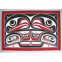 Sacred Four by Robin Rorick, by Haida Native Artist