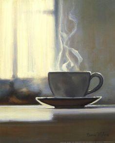 Coffee Time Fine-Art Print by Bonnie Mohr at UrbanLoftArt.com
