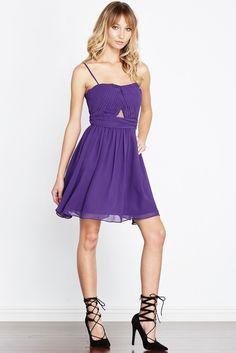 PoshSquare Adore Me <3    Purple Swoon For You Pleated Empire-Waist Chiffon Dress    SHOP: http://poshsquare.com/purple-swoon-for-you-pleated-empire-waist-chiffon-dress.html #PoshSquareStyle #ValentinesDay #Dress