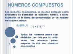 imagenes de divisibilidad, numeros primos y compuestos - Buscar con ...