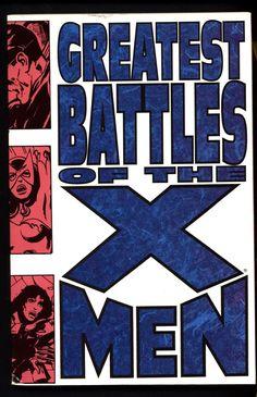 "Marvel Comics Greatest Battles of the X-MEN ""Days of Future Past"" Neal Adams John Byrne Jim Lee Dark Phoenix Wolverine Cyclops Professor X"