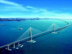 The Incheon Bridge is a newly-constructed reinforced concrete bridge in South Korea. At its opening in October 2009, it became the second connection between Yeongjong Island and the mainland of Incheon.