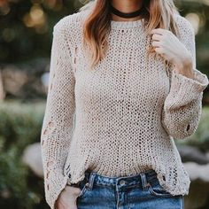HOLEY knit, we love this  @shopavenu shredded knit is going fast!  call us to order by phone {619.996.3303} #ontheavenu #lajollalocals #sandiegoconnection #sdlocals - posted by a v e n u.  https://www.instagram.com/shopavenu. See more post on La Jolla at http://LaJollaLocals.com