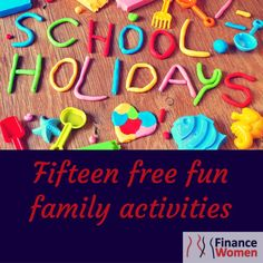 To help you (and your hip pocket) out this school holiday, we've put together a list of FREE family activities in Melbourne for you to try. http://www.financewomen.com.au/school-holiday-activities/