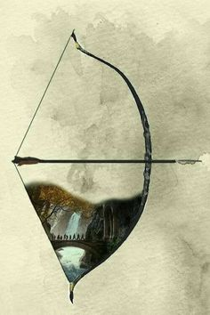I need this tattoo! Especially since it's Legolas's bow❤️❤️ The Hobbit ~ The Desolation of Smaug