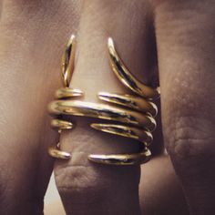 stacked rings Jovana Djuric