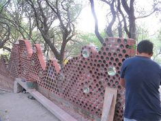 Constructing new Bottle Walls..., via Flickr.