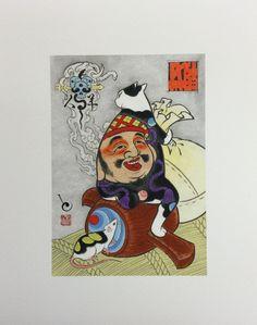 Daikoku Print