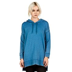Volcom Junior's Lived In Fleece Pullover Hoodie, Royal, Medium * Click image to review more details.