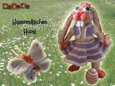 Hupsi, das Hasen Mädchen, eine Häkelanleitung von DaDaDe