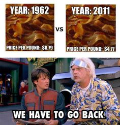 Back To The Future, Indeed!    #Bacon