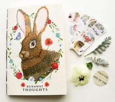 Runaway Thoughts Pocket Book by LilyMoon on Etsy