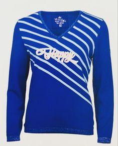 Girls Golf, Sweaters, Fashion, Moda, Fashion Styles, Sweater, Fashion Illustrations, Sweatshirts, Pullover Sweaters