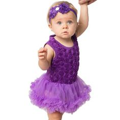 >> Click to Buy << Rose Floral Baby Romper Girls Dresses Lace Cake Smash Tutu Dress Tulle Pettiskirt Summer Onesie Bow Headband Babygirls Clothes #Affiliate