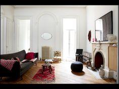 Un salon éclectique - Une maison de chic et de broc